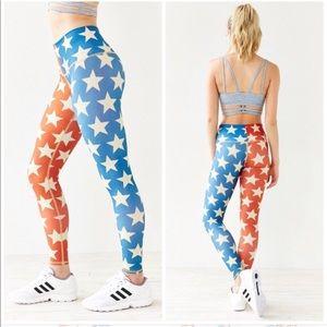 Teeki stars power leggings size M
